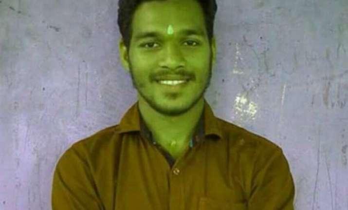kerala rss worker hacked to death in front of elderly