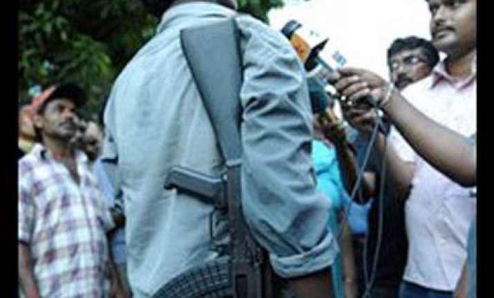 talk or we ll attack cities kishanji warns centre