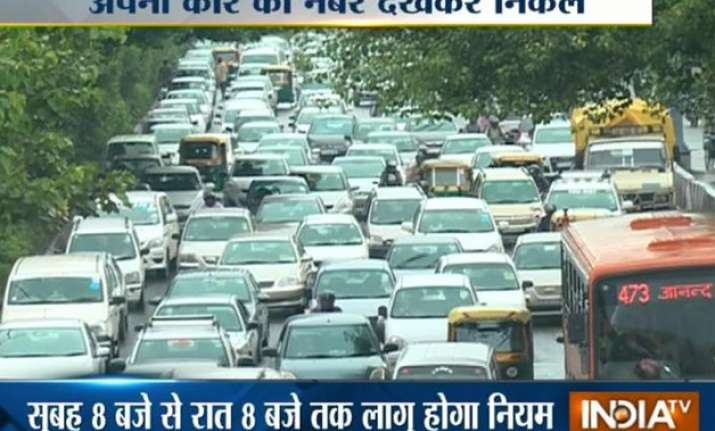 impossible to carry odd even plan permanently says kejriwal