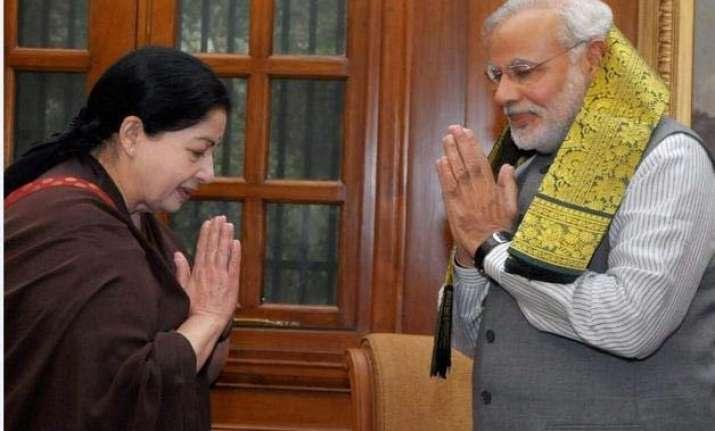 prime minister narendra modi meets tamil nadu chief