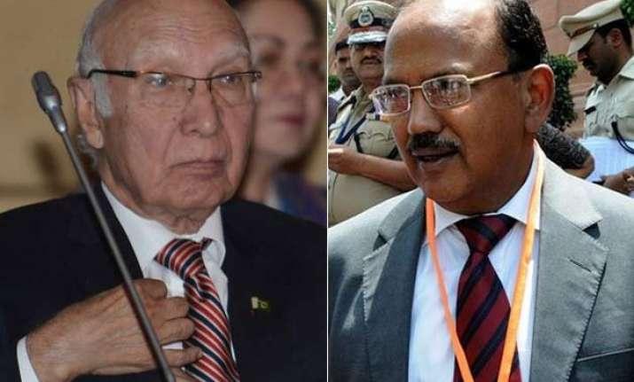 sartaj aziz to visit india on aug 23 for nsa level talks