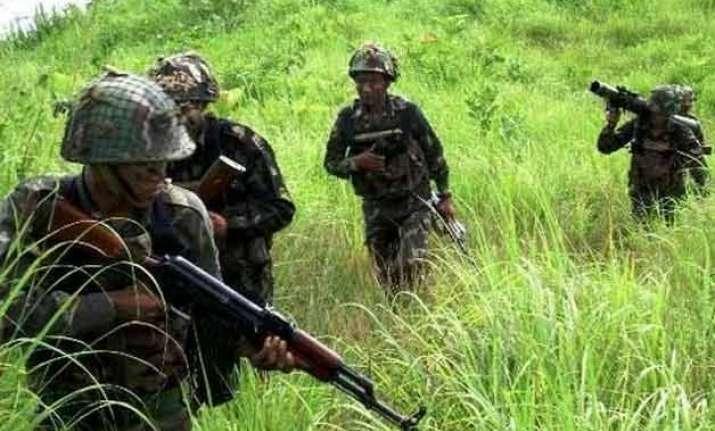 infiltration bid foiled three militants killed along loc