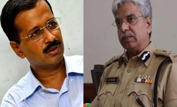 cm kejriwal summons delhi police commissioner tomorrow