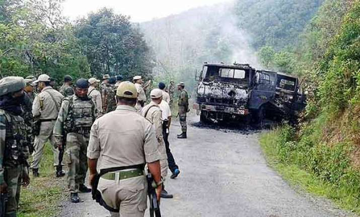 5 nscn k militants involved in manipur ambush on army held