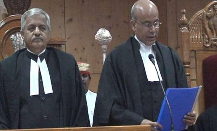 navin sinha sworn in as chief justice of chhattisgarh hc