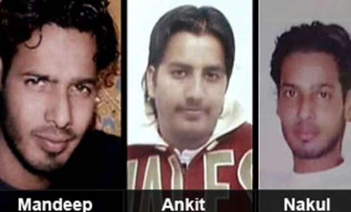 delhi triple murder sent to five days police custody