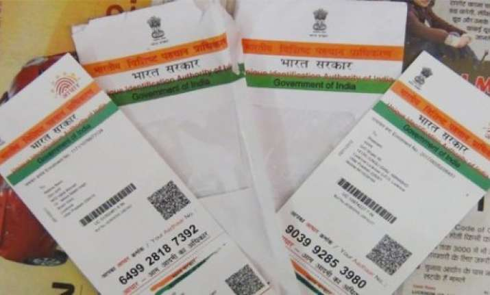 aadhar will be optional for availing various govt schemes sc