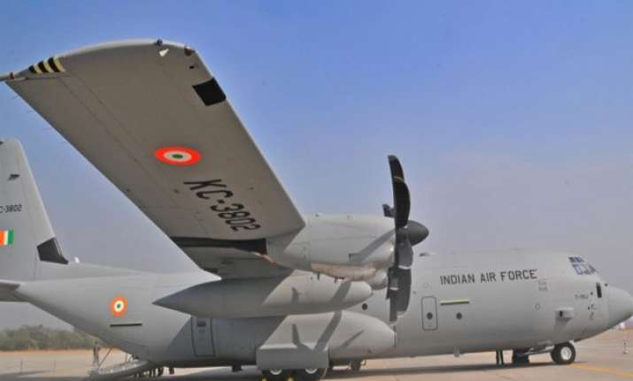 india sends 4 aircraft with relief supplies team to nepal