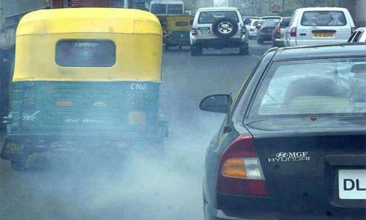 unacceptable levels of pollution in delhi study