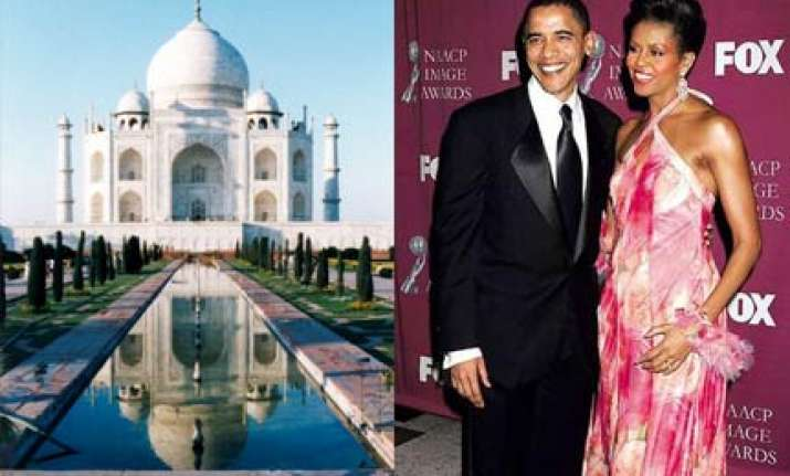 obama and michelle may miss a date with the taj