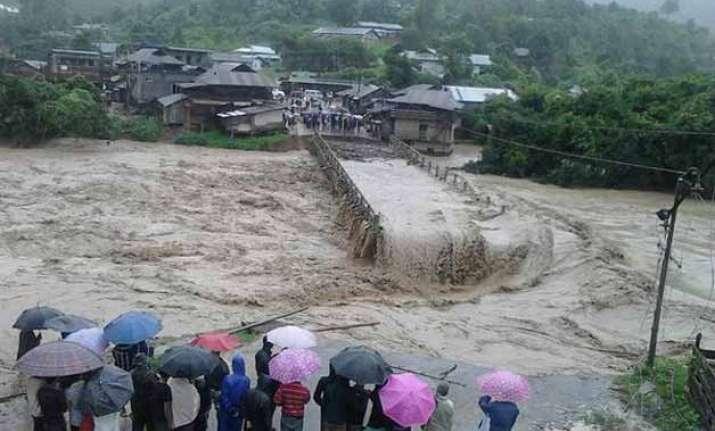 landslide buries entire village in manipur at least 20 dead