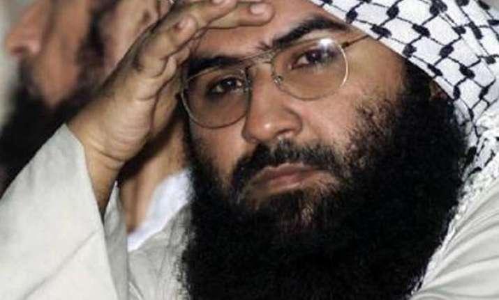 pak min admits jem chief masood azhar is in custody report