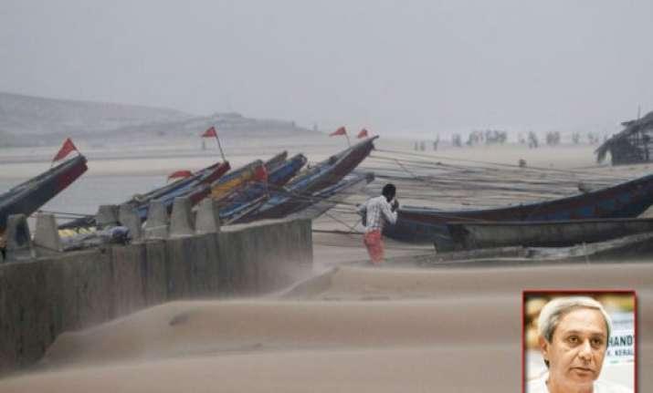 odisha cm to make aerial survey of hudhud hit regions