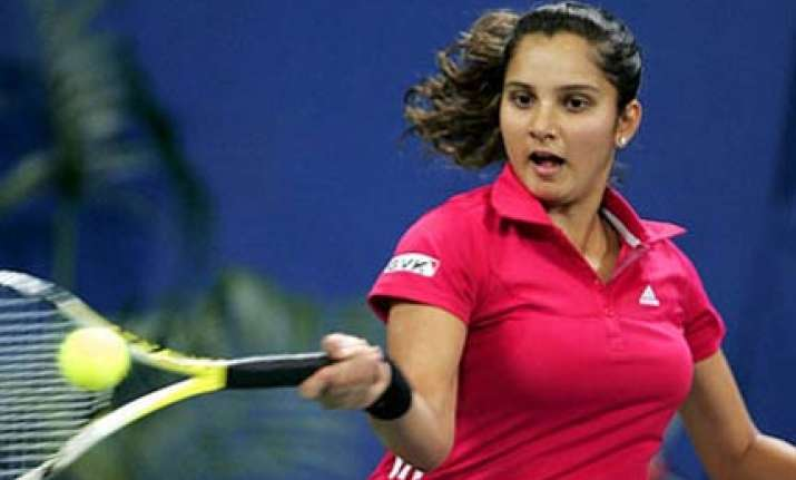 sania to lead women s team at cwg