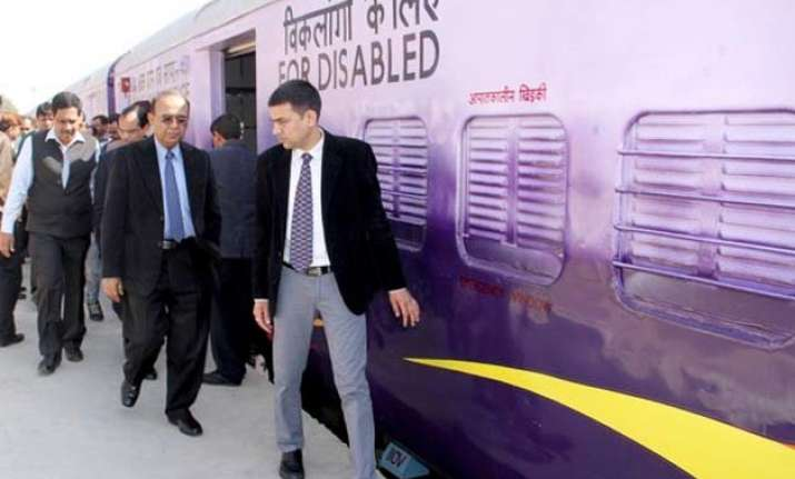 railways choose vibrant colours for semi high speed train