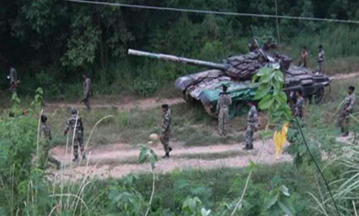 operation to clear tosamaidan over says army