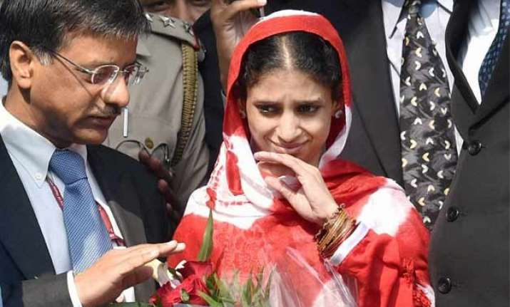 another family in up claims geeta is their daughter