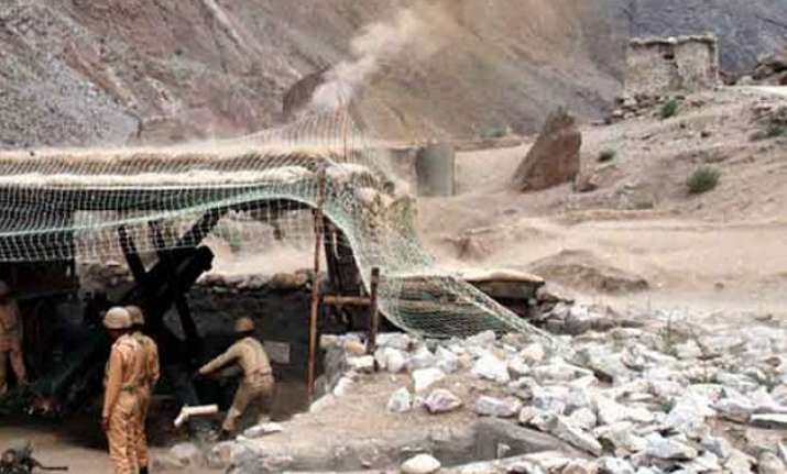 pakistan shells border out posts along ib in jammu sector