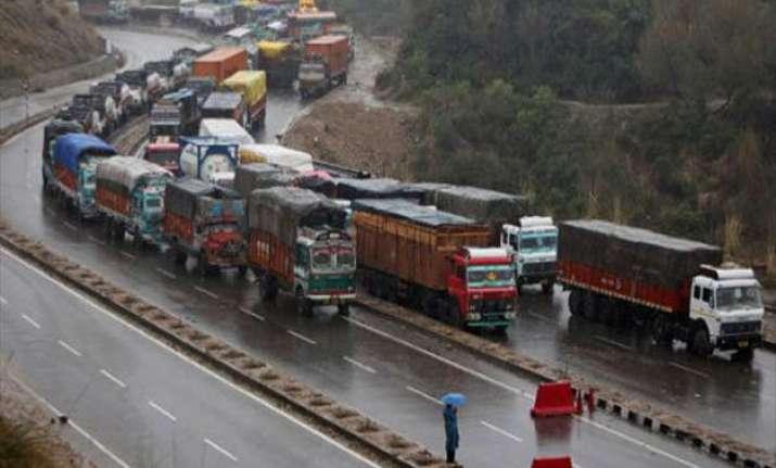 jammu srinagar national highway shut for fourth day
