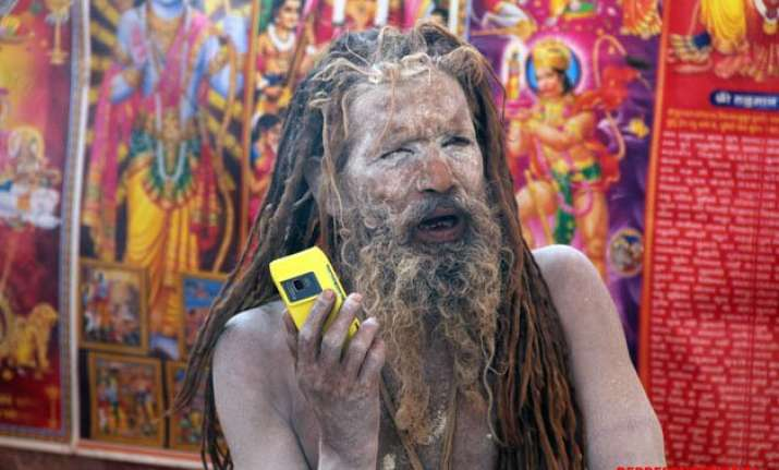 whatsapp baba the biggest attraction of magh mela in
