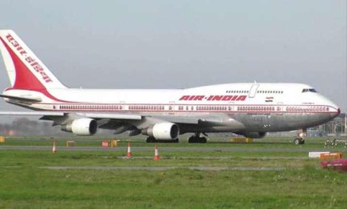 delhi bound ai plane suffers tyre burst scare for passengers