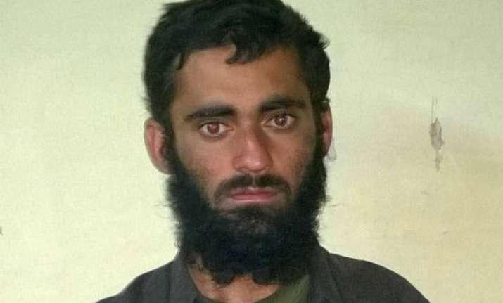 pakistani terrorist was tasked to set up base in kashmir