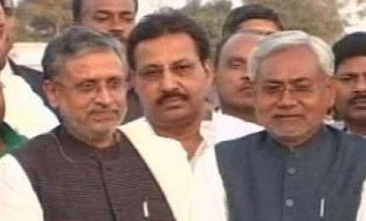 bjp puts off decision on jd u alliance in bihar