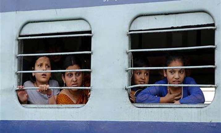45 million people traveled ticketless in indian railways in