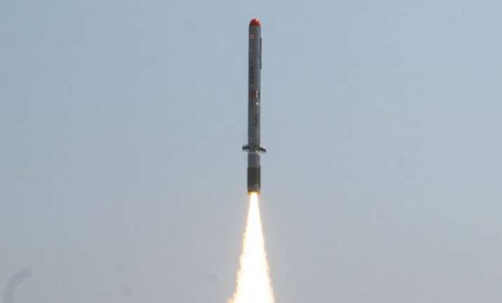 india test fires nuclear capable missile nirbhay