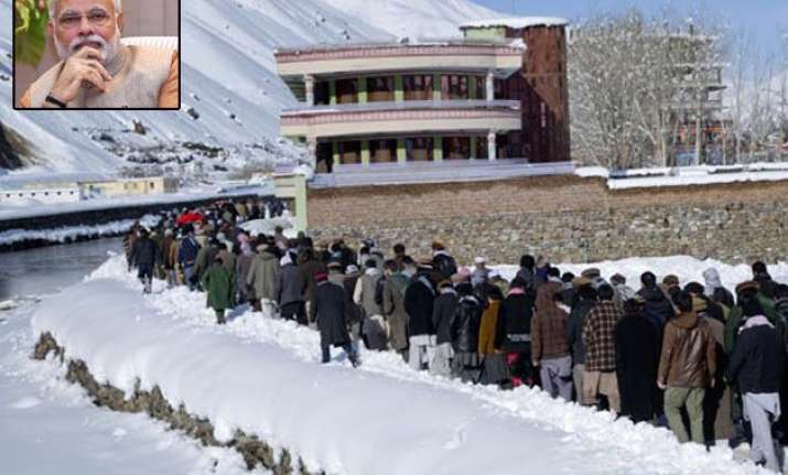 pm modi offers assistance to avalanche hit afghanistan