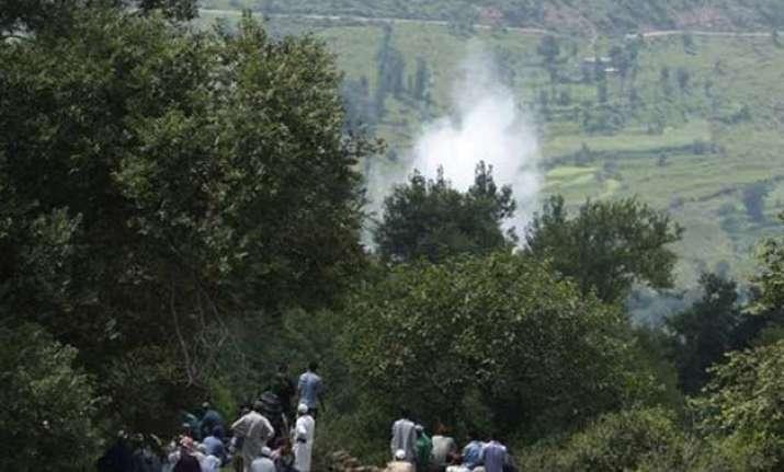 pakistan shells civilian areas of jammu and kashmir
