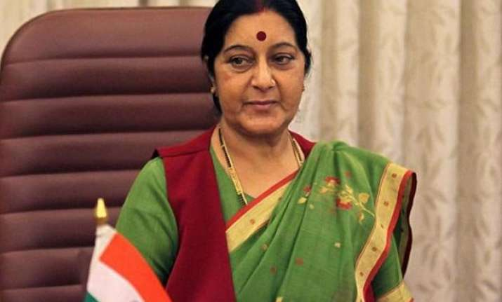 india to airlift its nationals from yemen sushma swaraj