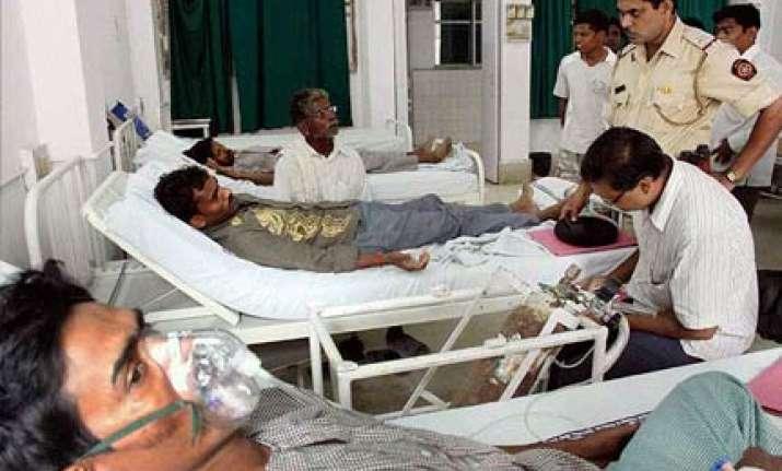 40 hospitalised after inhaling toxic gas in navi mumbai