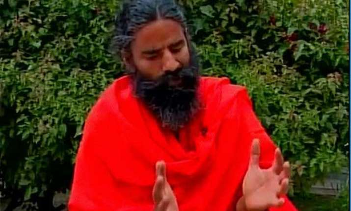 ramdev has a narrow escape to stay in nepal for relief work
