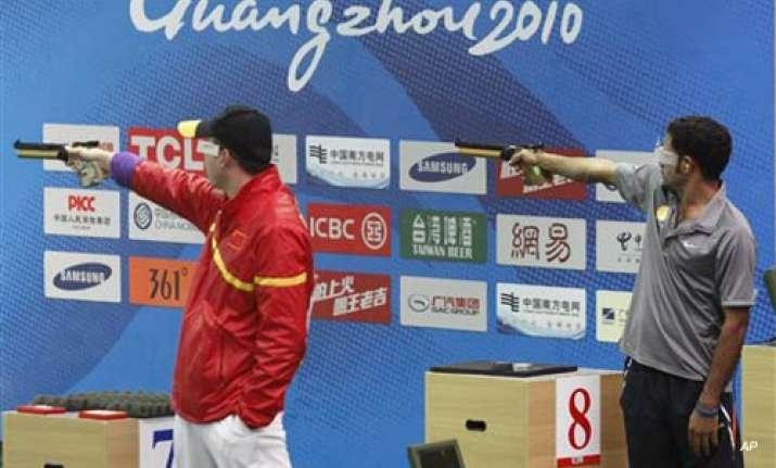 vijay kumar wins bronze in 25m centre fire pistol
