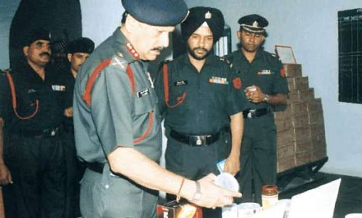 retd lt gen to be court martialled in ration scam