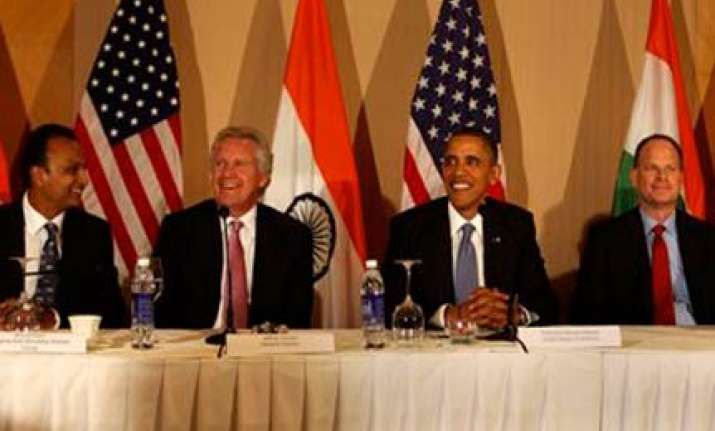 obama charms india inc with namaste