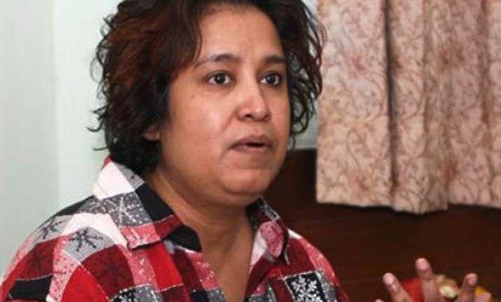 taslima nasreen s india resident permit expires centre yet