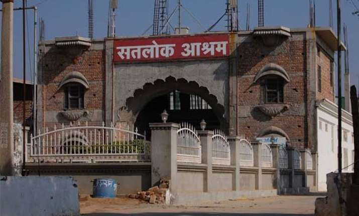 bullet proof vehicle found in rampal s ashram search on