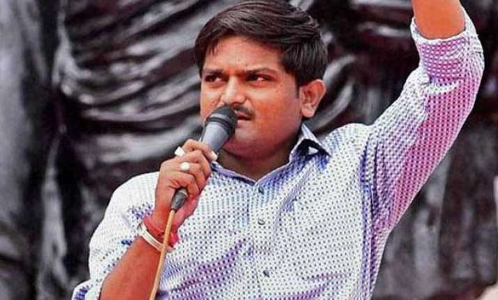 court sends hardik patel to police custody for seven days
