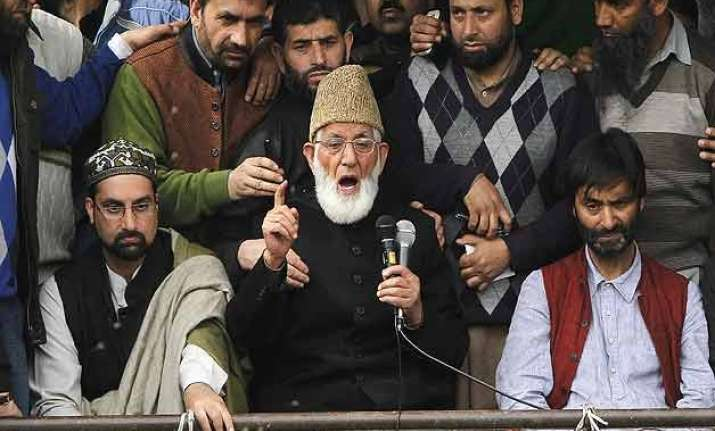 waiving of pakistan flags is not criminal offence hurriyat
