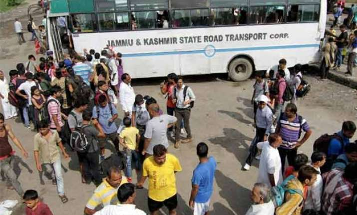 bandh continues in jammu for third day