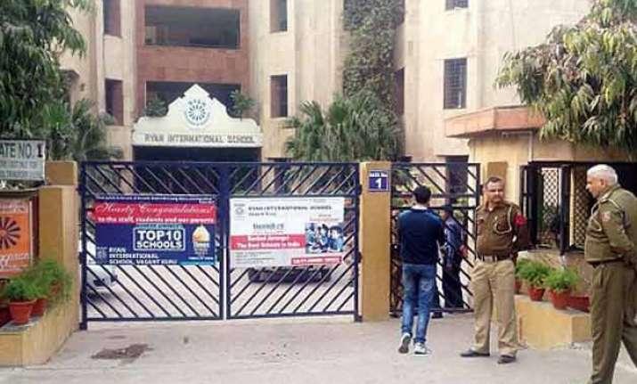 ryan international student death police arrest principal 4