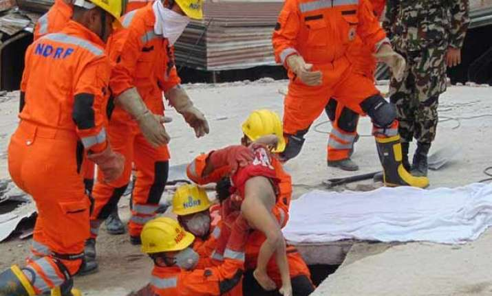 ndrf begins withdrawal of its rescue teams from quake hit