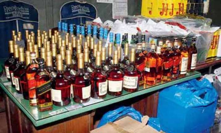 liquor seizure surged during delhi polls but cash haul saw