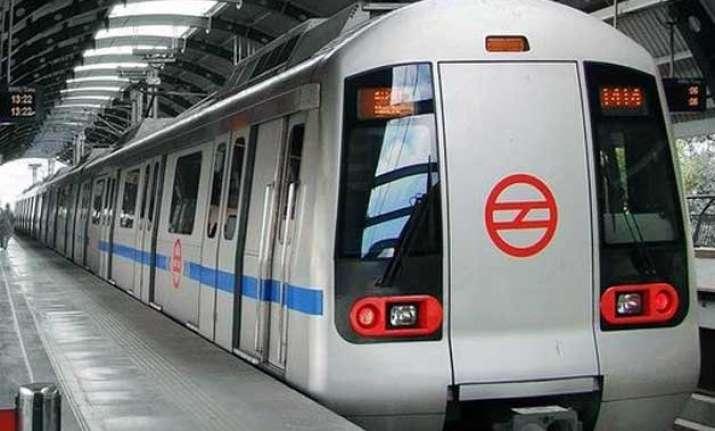 nepal quake tremors felt in delhi metro services briefly
