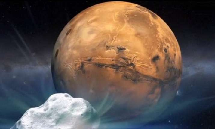 india repositions its mars orbiter to avoid comet siding