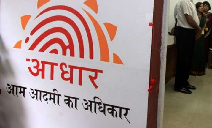 record all employees aadhaar in service books government to