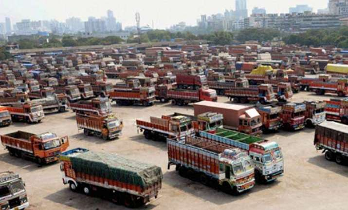 truckers nationwide strike against toll hits goods supply