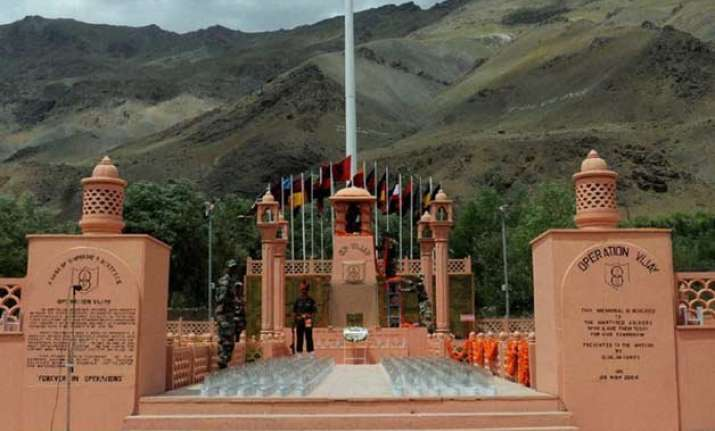 vijay diwas celebrations to kick start in drass tomorrow